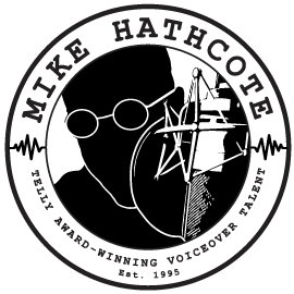 Mike Hathcote Telly Award-Winning Voiceover Talent Logo